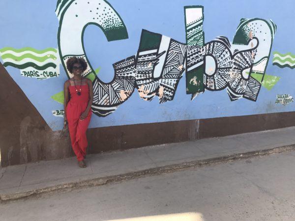 Danielle in Trinidad Cuba